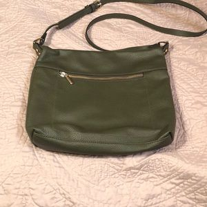 NWOT- A New Day olive green crossbody purse